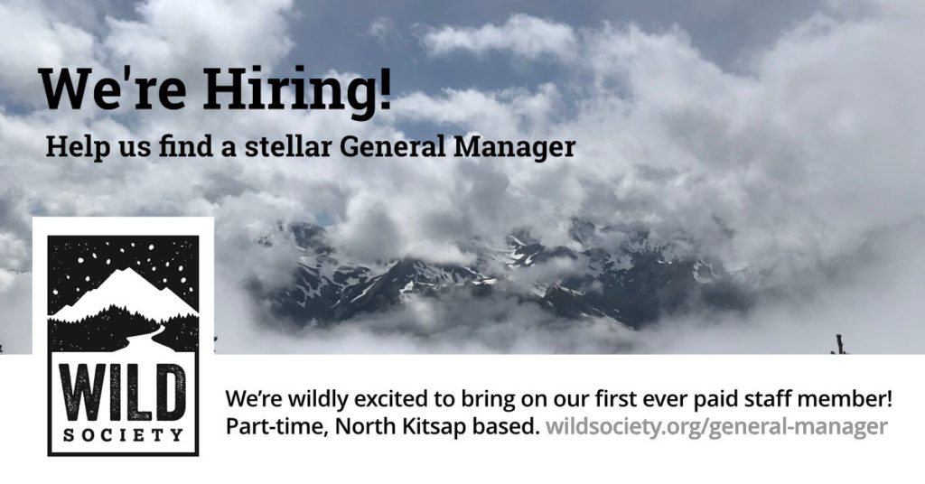Wild Society is hiring a General Manager