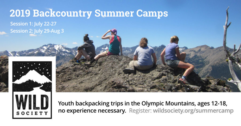 2019 Backcountry Summer Camps in the Olympics